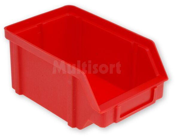 Pojemnik warsztatowy typ V - 119x77x56mm czerwony