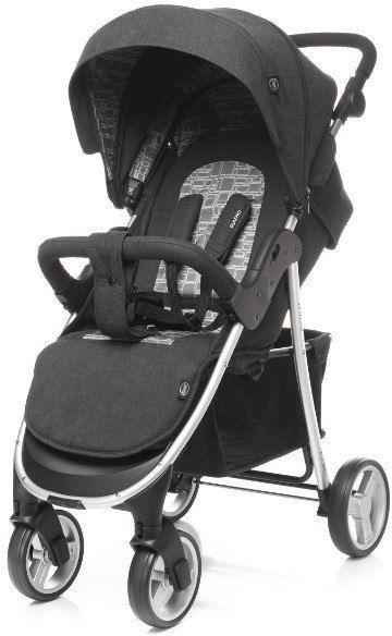 Wózek spacerowy Rapid Premium Silver 4BABY