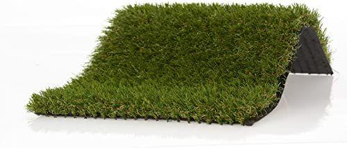Sztuczna trawa 40 mm, pianka memory, zielona, 1 m x 15 m