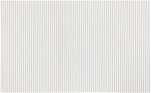 WENKO Biała, 50 x 80 cm, mata łazienkowa, mata kuchenna, tworzywo sztuczne, 50 x 0 x 80 cm