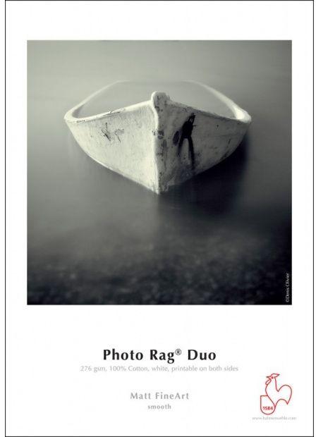 Papier HAHNEMUHLE PHOTO RAG DUO 276gsm A2 (25 arkuszy) (10641604)
