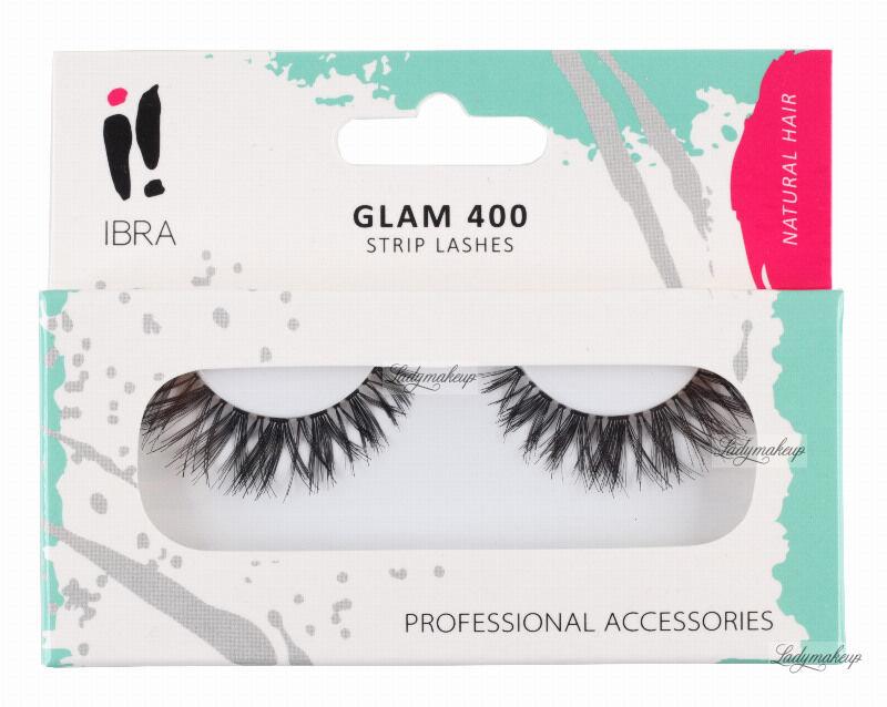 Ibra - GLAM - Sztuczne rzęsy na pasku - GLAM 400