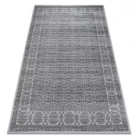 Dywan NOBIS 84302 srebrny/antracyt - Ramka 160x230 cm