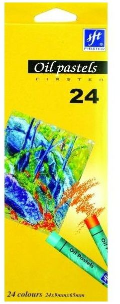 Pastele olejne 24 kolory Firster Titanum 117243