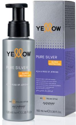 Yellow Silver fioletowy pigment do włosów 100 ml