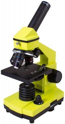 Mikroskop Levenhuk Rainbow 2L PLUS Lime Limonka