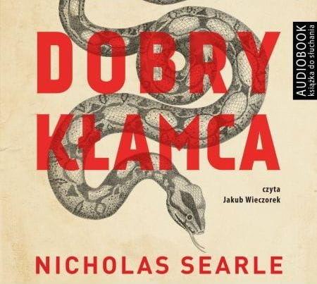 Dobry kłamca Nicholas Searle Audiobook mp3 CD