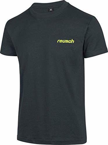 Reusch Promo t-shirt męski czarny czarny S