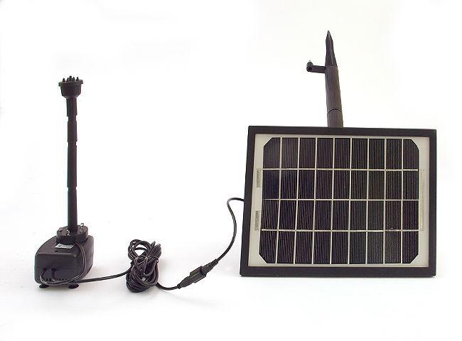 Pompa solarna do oczka wodnego 5W oświetlenie led
