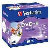 Verbatim DVD-R 4.7 GB x16 10szt Do nadruku