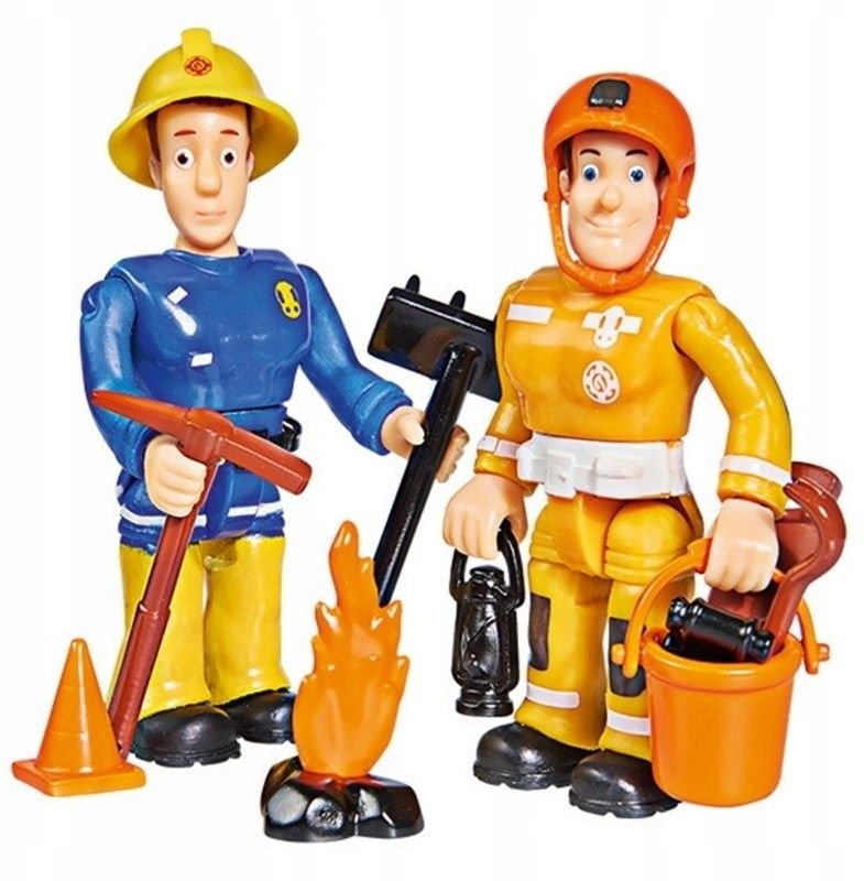 Simba Figurki Strażak Sam Sam i Arnold Akcesoria