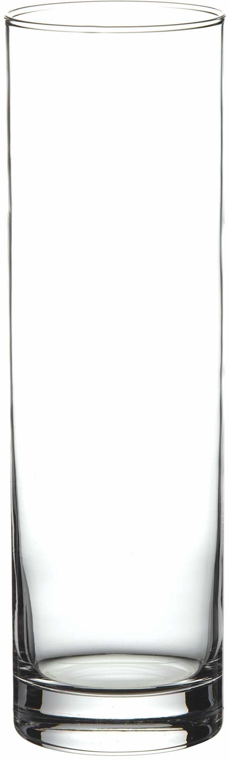Pasabahce 43767 Flora wazon szklany, cylindryczny, 26,5 cm