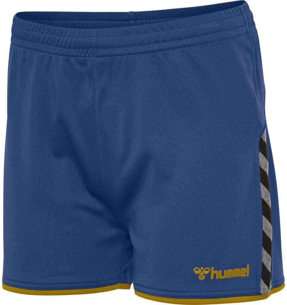 Hummel damska bluza z długim rękawem i poliestru, kolor True Blue/Sports Yellow, XL
