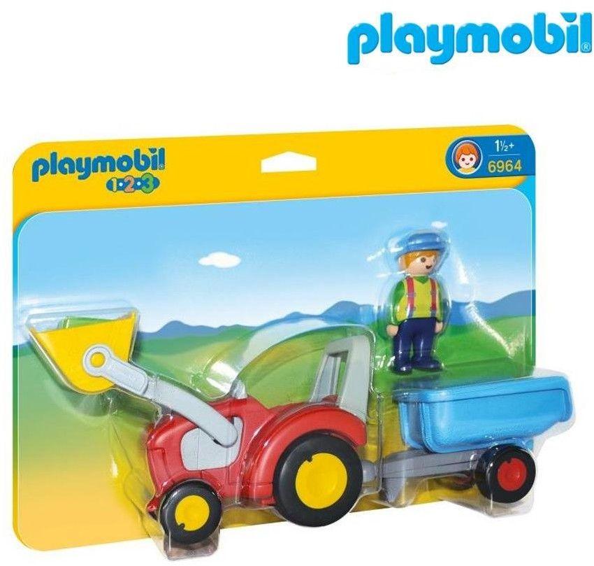 Playmobil - Traktor z przyczepą 6964