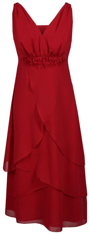 Sukienka FSU220 CZERWONY