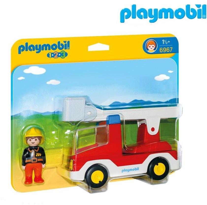 Playmobil - Wóz strażacki z drabiną 6967