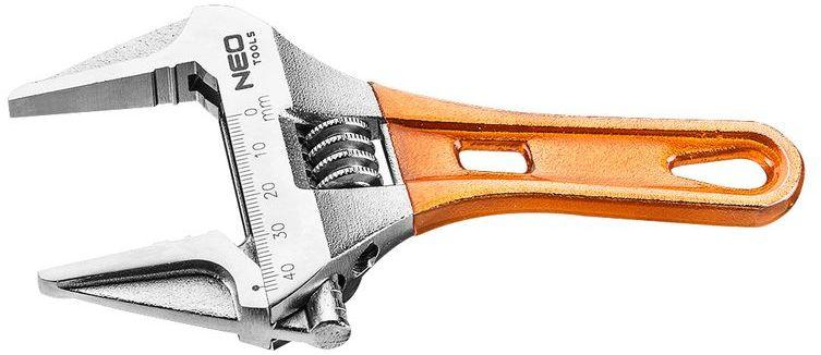 Klucz nastawny krótki 156mm, zakres 0-43mm 03-021