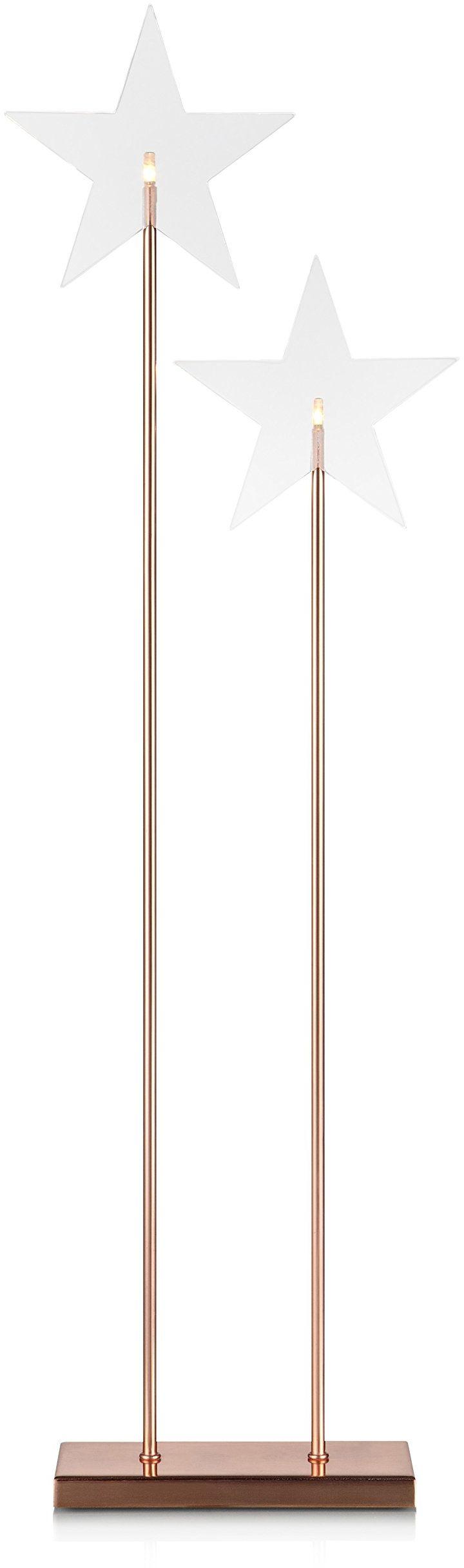 Markslöjd 703888, lampa stojąca, 0,06 W, zintegrowana, miedziana, 25 x 8 x 78 cm