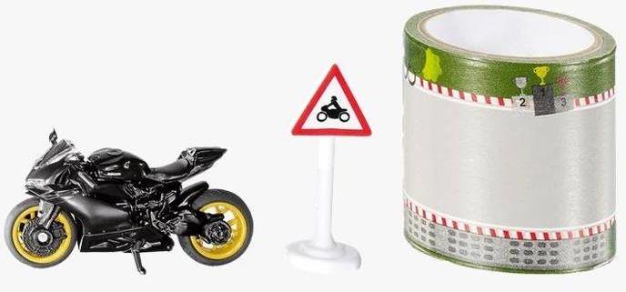 Siku 16 - Zestaw motocykl + taśma S1601
