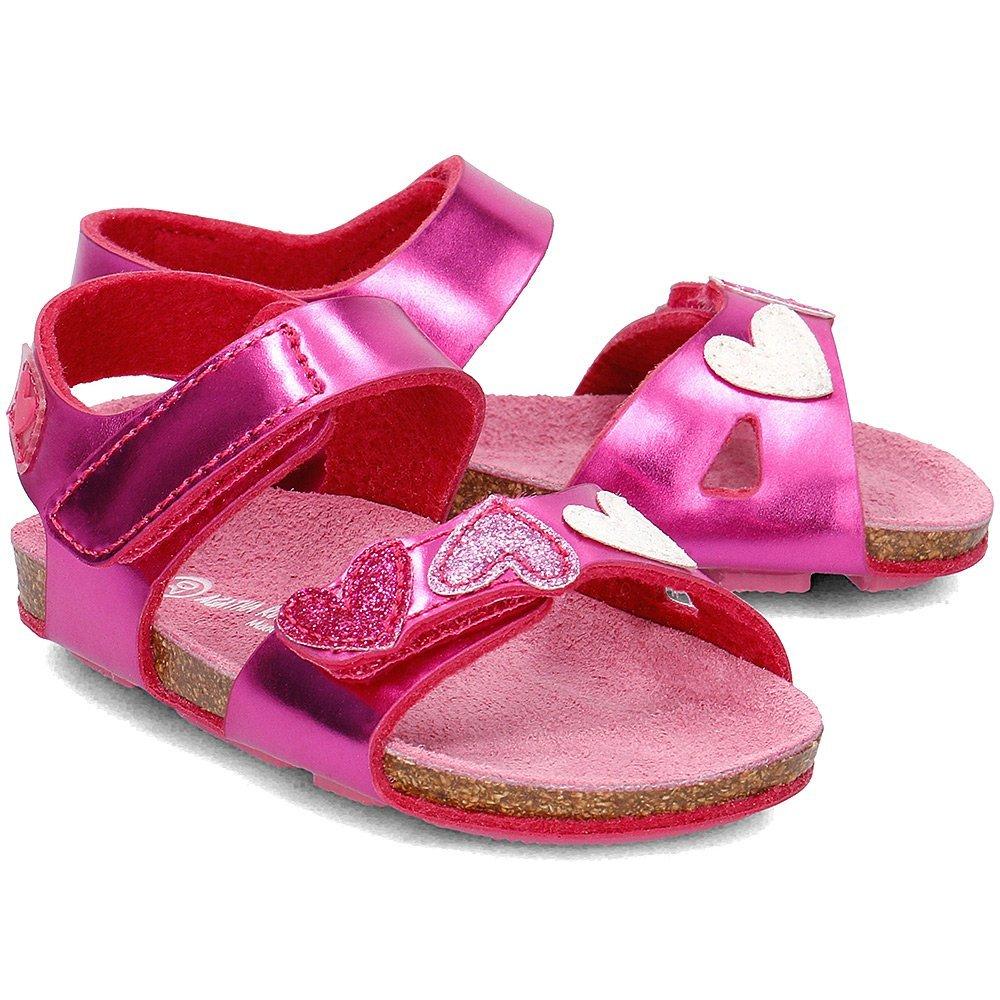 Agatha - Sandały Dziecięce - 172927 A-FUCSIA - Różowy