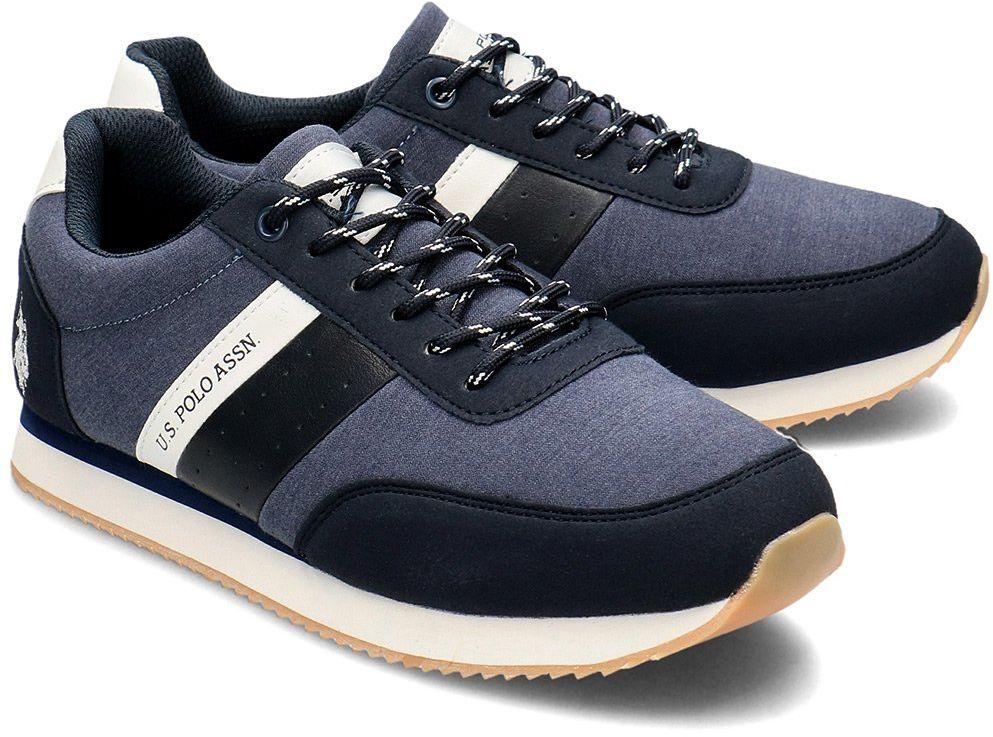 U.S. Polo Assn Tiber - Sneakersy Męskie - NOBIL4251S0/TH1 AVIO-DKBL