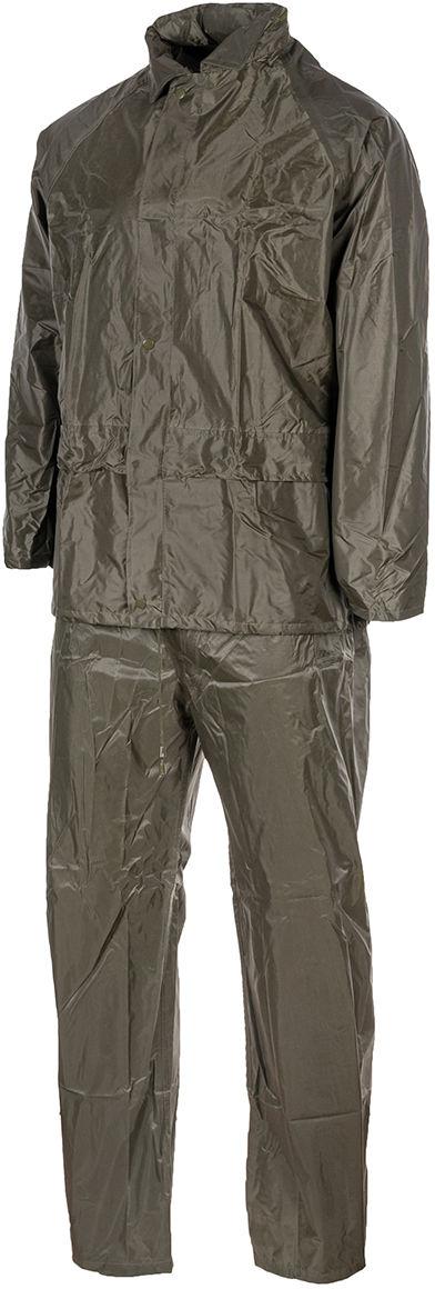 Komplet przeciwdeszczowy Mil-Tec kurtka+spodnie Olive (10625001-902)