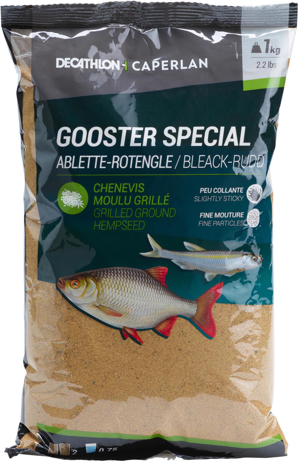 Zanęta Gooster Special na ukleje i wzdręgi żółta 1 kg