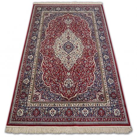 Dywan WINDSOR 12808 ROZETA FRĘDZLE tradycyjny czerwony 160x230 cm