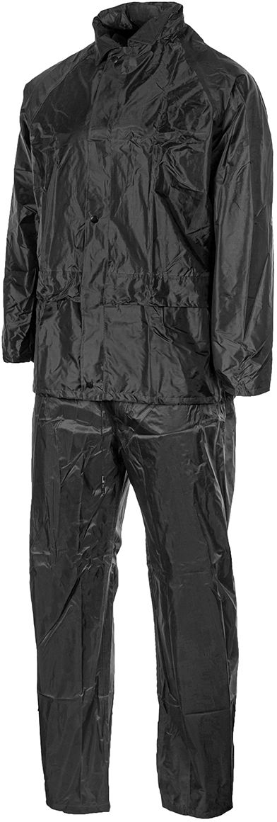 Komplet przeciwdeszczowy Mil-Tec kurtka+spodnie Black (10625002-902)
