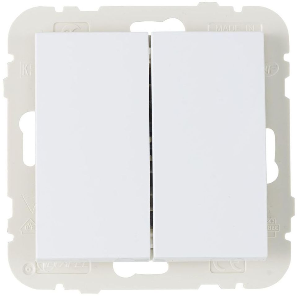 Włącznik podwójny LOGUS 90 Biały EFAPEL