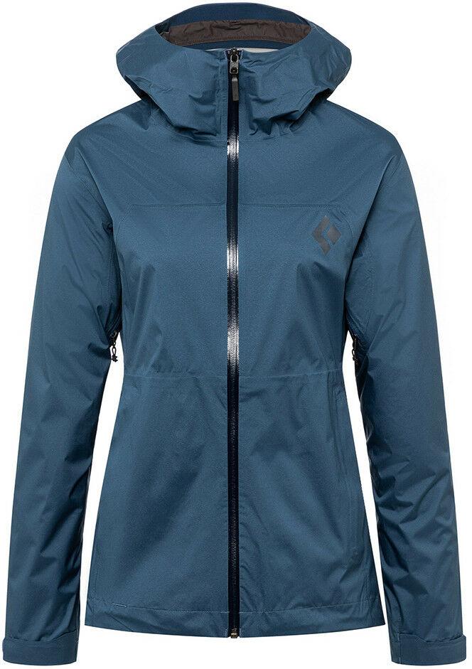 Damska kurtka przeciwdeszczowa Black Diamond STORMLINE STRETCH RAIN SHELL ink blue