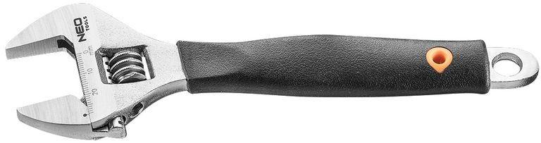 Klucz nastawny 200mm, zakres 0-28mm 03-028