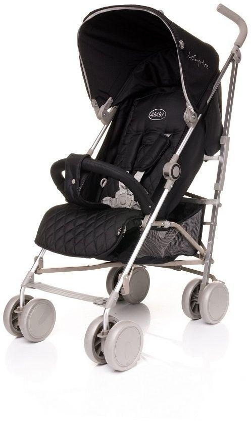 Wózek spacerowy Le Caprice Black 4BABY