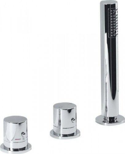 Wannowa 3-elementowa bat. termostatyczna GO, bez wylewki