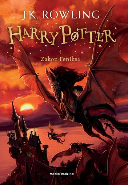Harry Potter i Zakon Feniksa ZAKŁADKA DO KSIĄŻEK GRATIS DO KAŻDEGO ZAMÓWIENIA