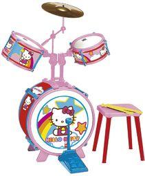 Reig Zestaw perkusyjny Hello Kitty z taboretem (3 sztuki)