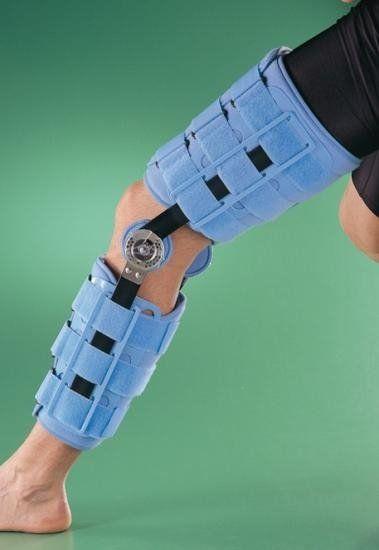 Stabilizator kolana z zegarem 4039