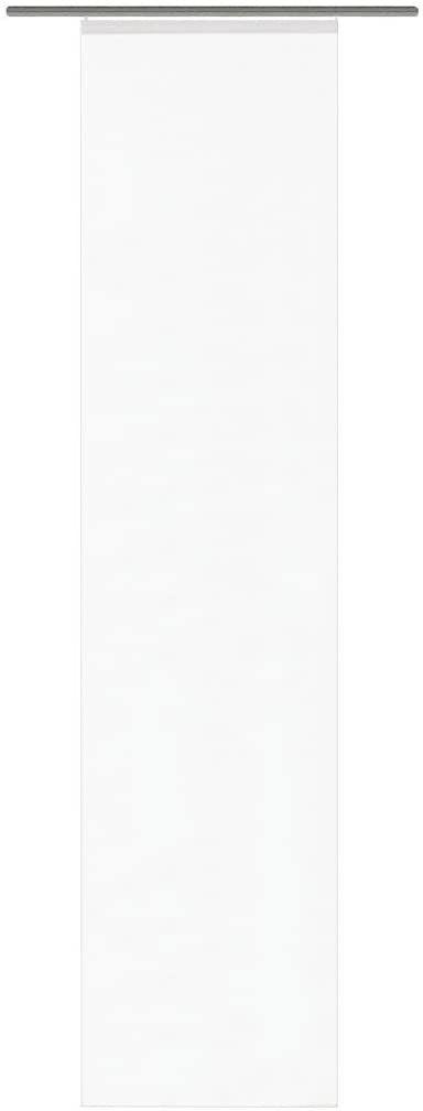 """Dom moda """"Rome"""" 87141-810 zasłona przesuwna zwykła woal 245 x 60 cm biała"""
