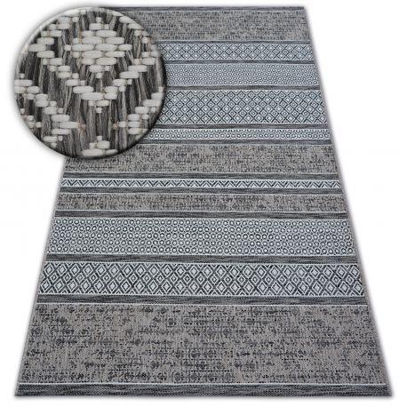 Dywan SZNURKOWY SIZAL LOFT 21118 BOHO kość słoniowa/srebrny/szary 200x290 cm