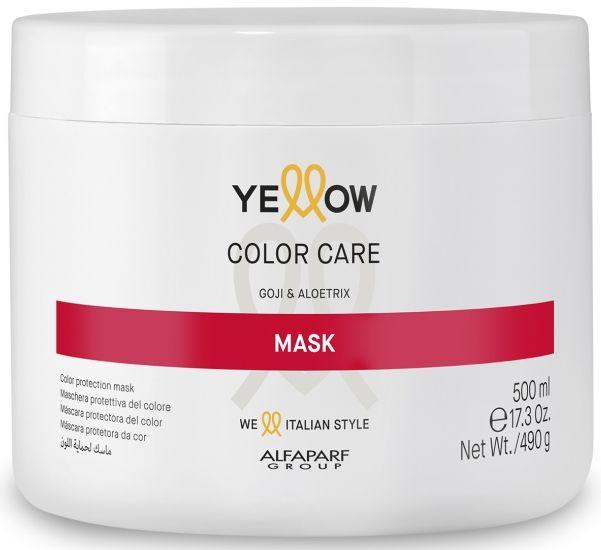 Yellow Color Care maska do włosów farbowanych 500