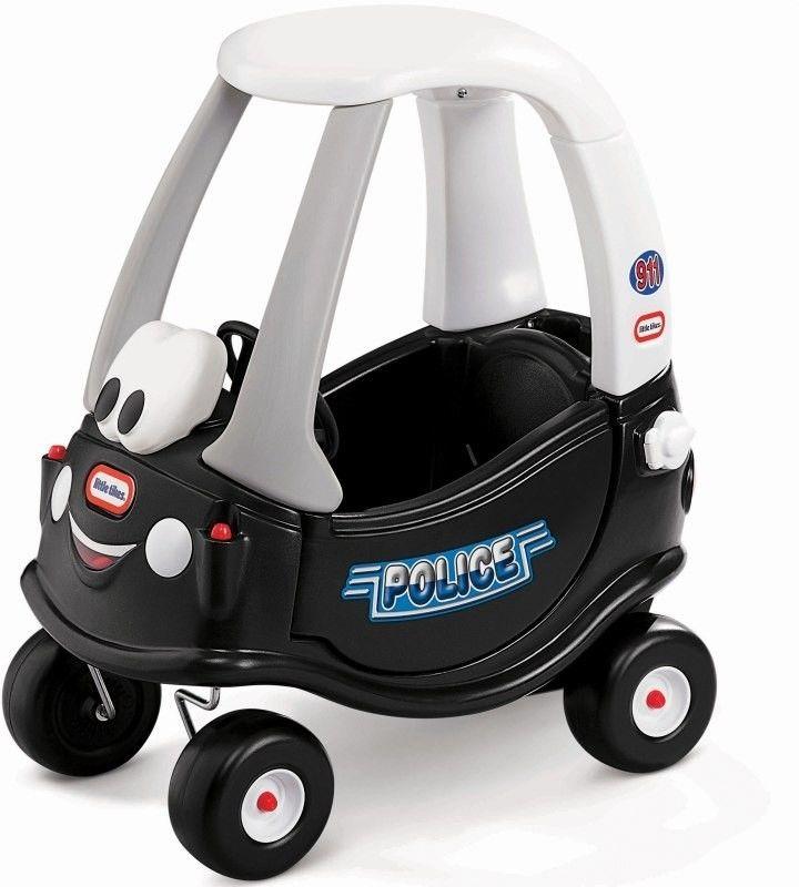 Jeździk Samochód policyjny Radiowóz Cozy Coupe Little Tikes