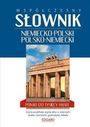 Współczesny słownik niemiecko-polski polsko-niemiecki ZAKŁADKA DO KSIĄŻEK GRATIS DO KAŻDEGO ZAMÓWIENIA