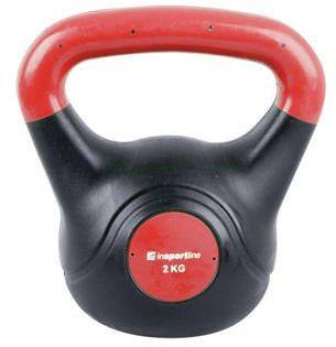 Kettlebell bitumiczny Dark Insportline 2 kg