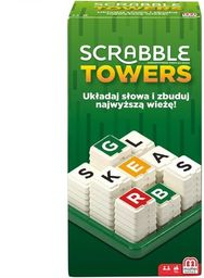 Gra Scrabble Towers ZAKŁADKA DO KSIĄŻEK GRATIS DO KAŻDEGO ZAMÓWIENIA