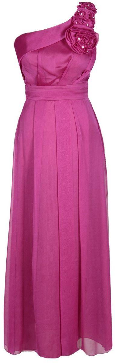 Sukienka FSU219 AMARANTOWY CIEMNY