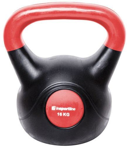 Kettlebell bitumiczny Dark Insportline 16 kg