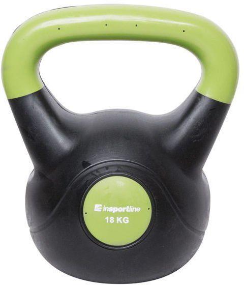 Kettlebell bitumiczny Dark Insportline 18 kg