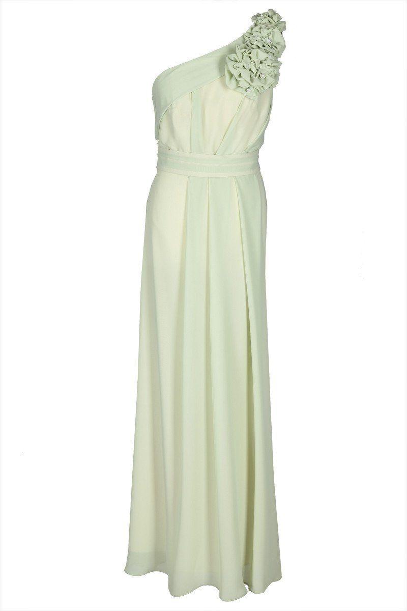 Sukienka FSU219 SELEDYNOWY JASNY