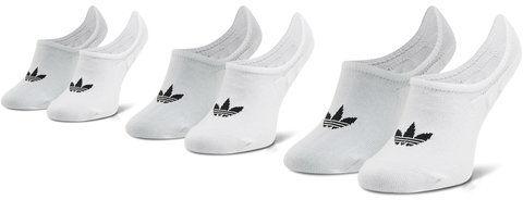 adidas Zestaw 3 par stopek unisex No-Show Socks 3P FM0676 Biały