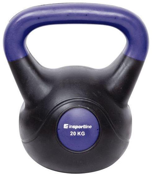 Kettlebell bitumiczny Dark Insportline 20 kg
